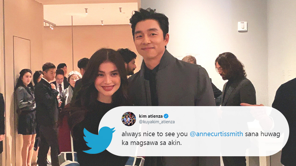The Best Online Reactions To Anne Curtis Meeting Gong Yoo In Seoul