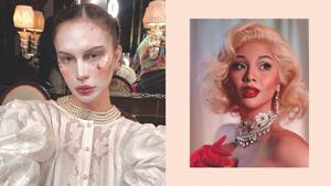 The Best Celebrity Halloween Makeup Looks We've Seen So Far