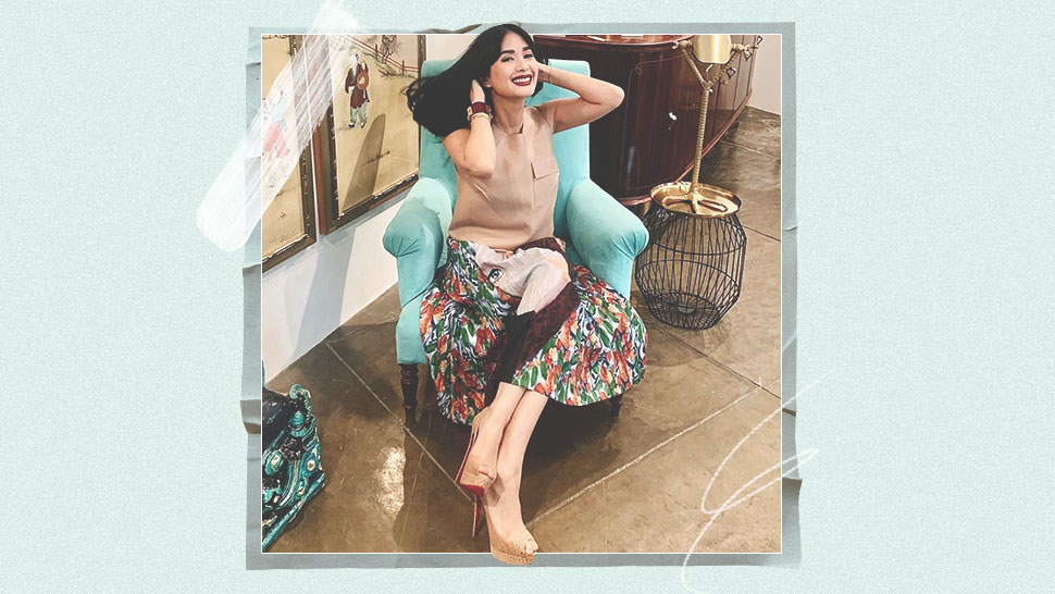 Heart Evangelista Talks About Getting Tired Of Wearing Heels