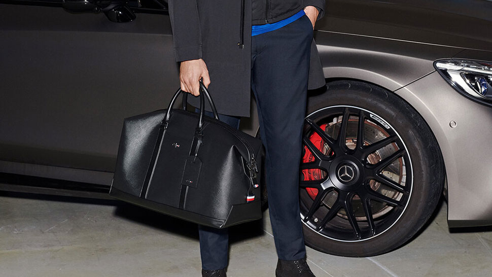 You Have To See Tommy Hilfiger's Sleek Collab With Mercedes-benz