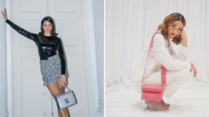 All The New Designer Bags We Spotted In Sarah Lahbati's Collection