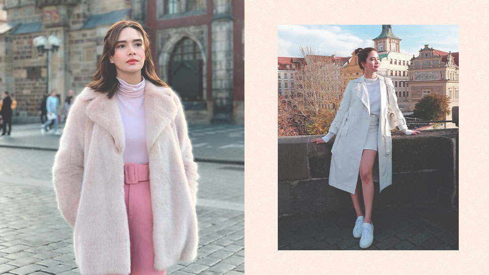 6 Monochromatic Looks We're Copping From Erich Gonzales' Travel Ootds