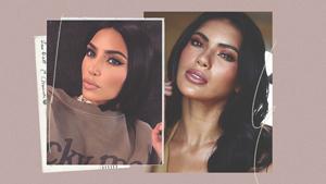 Gazini Ganados Looks Very Much Like Kim Kardashian In These Photos