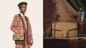 Gucci's Iconic Gg Marmont Bag Now Comes In Monogram Canvas And We're In Love