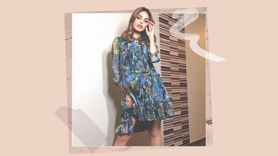 We Found The Exact Printed Dress Janine Guttierez Recently Wore
