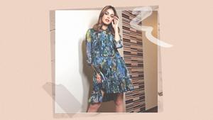 We Found The Exact Printed Dress Janine Guttierez Recently Wore