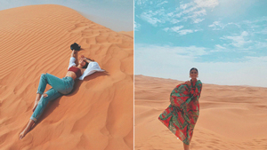 We're Obsessed With Lovi Poe's Cool Travel Ootds In Dubai