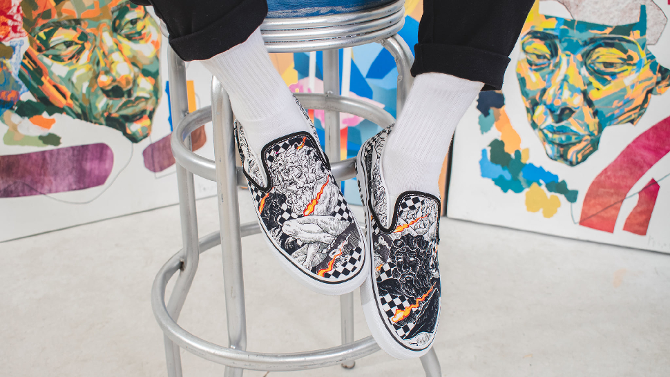 These Are The First-Ever Vans Kicks Designed By A Filipino Artist