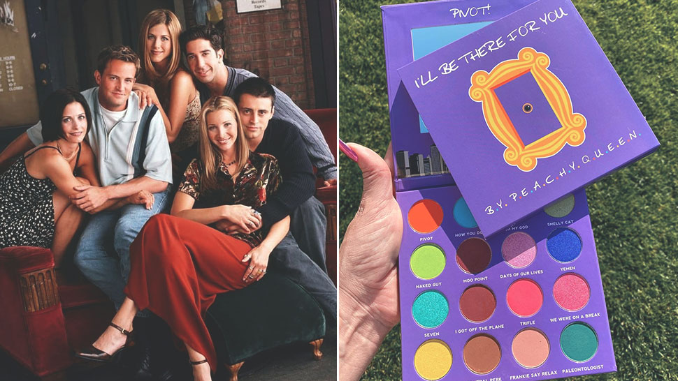 "A ""friends""-inspired Eyeshadow Palette Exists And We Want One Right Now"