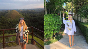 You Have To See Sandara Park's Birthday Vacation Ootds In Bohol