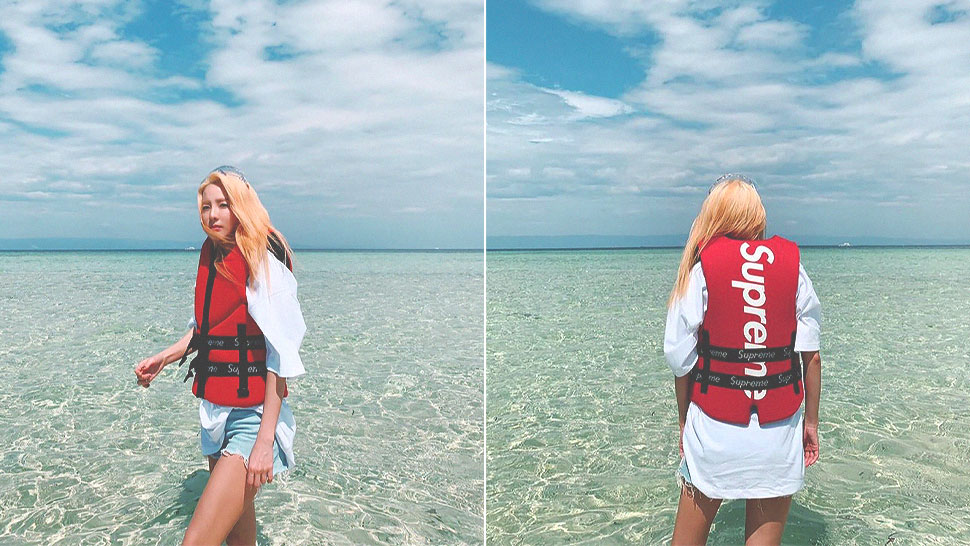 Would You Buy Sandara Park's Supreme Life Vest for P15,000?