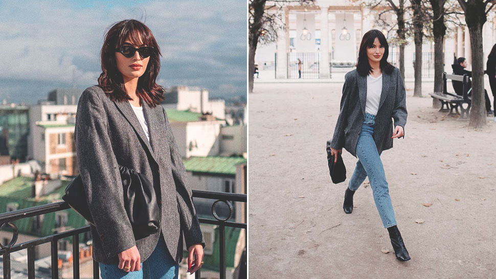 Sarah Lahbati's Chic Paris OOTDs Will Be Your New Travel Outfit Pegs