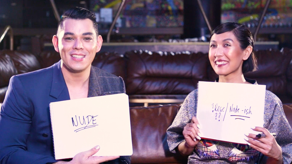 Liz Uy And Mond Gutierrez Try To Guess Each Other's Favorite Beauty Products