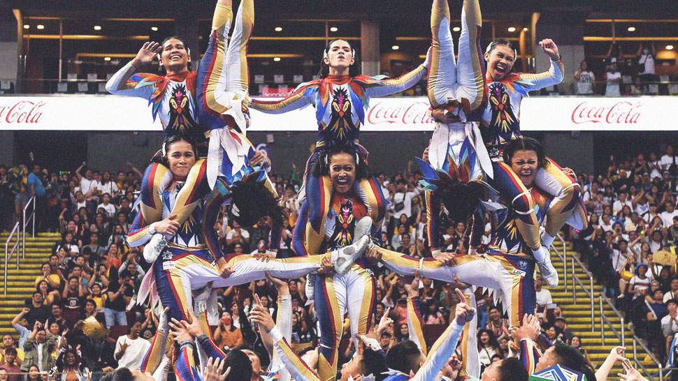 NU Pep Squad Takes the Crown at the UAAP Cheer Dance Competition 2019