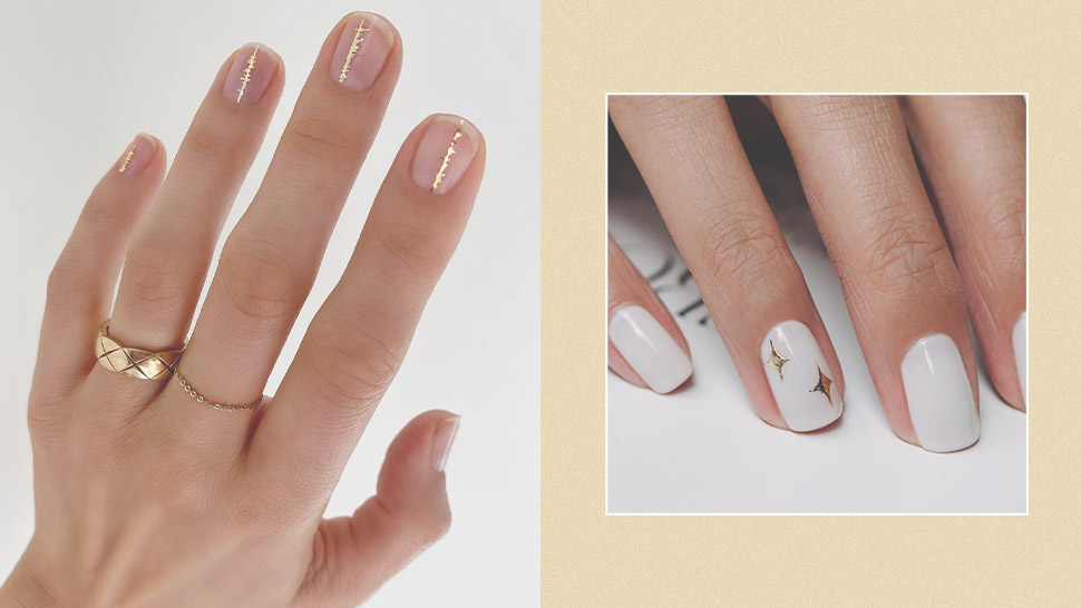 10 Fancy Gold Nail Art Ideas to Try This Holiday Season