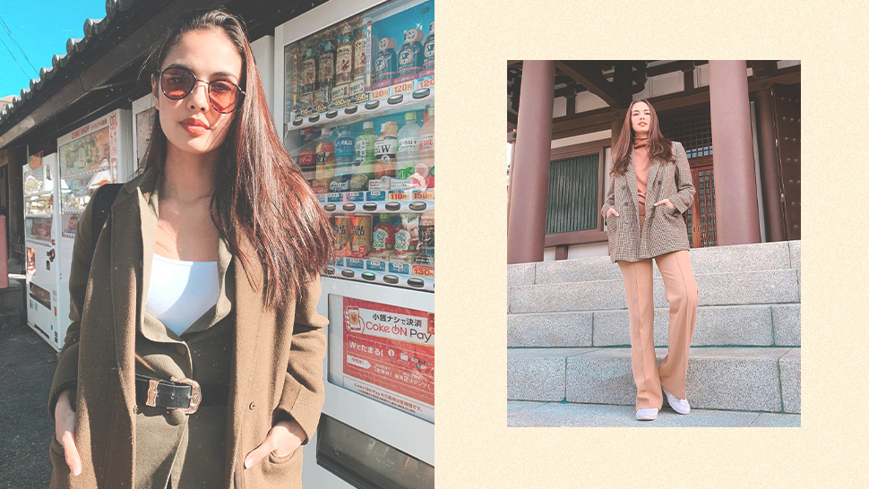 Megan Young's Monochromatic Looks In Japan Will Be Your Next Travel Ootd Pegs
