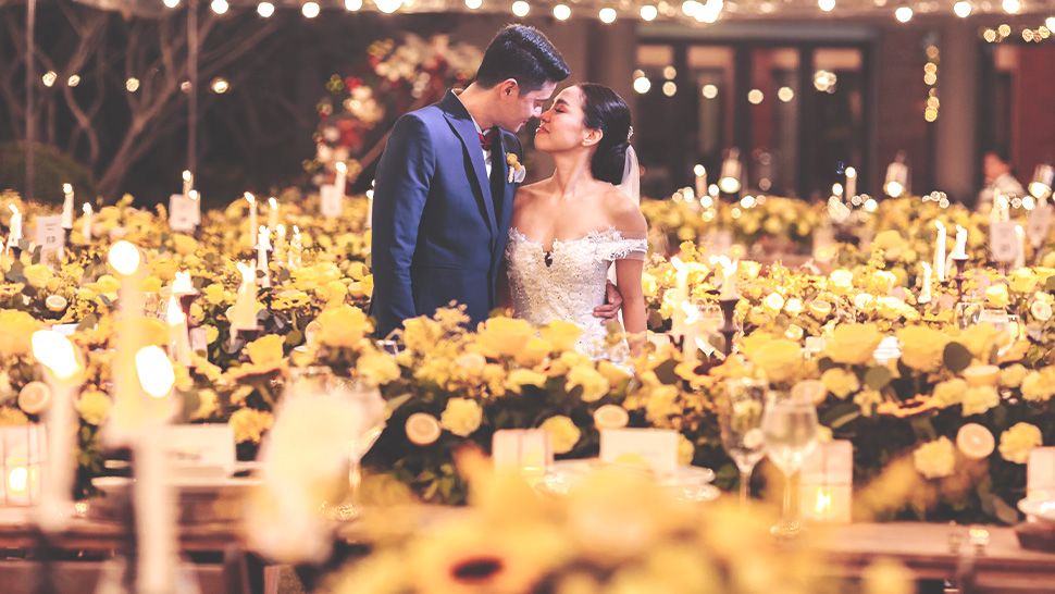 You Have to See Aicelle Santos and Mark Zambrano's Vibrant Sunflower-Themed Wedding