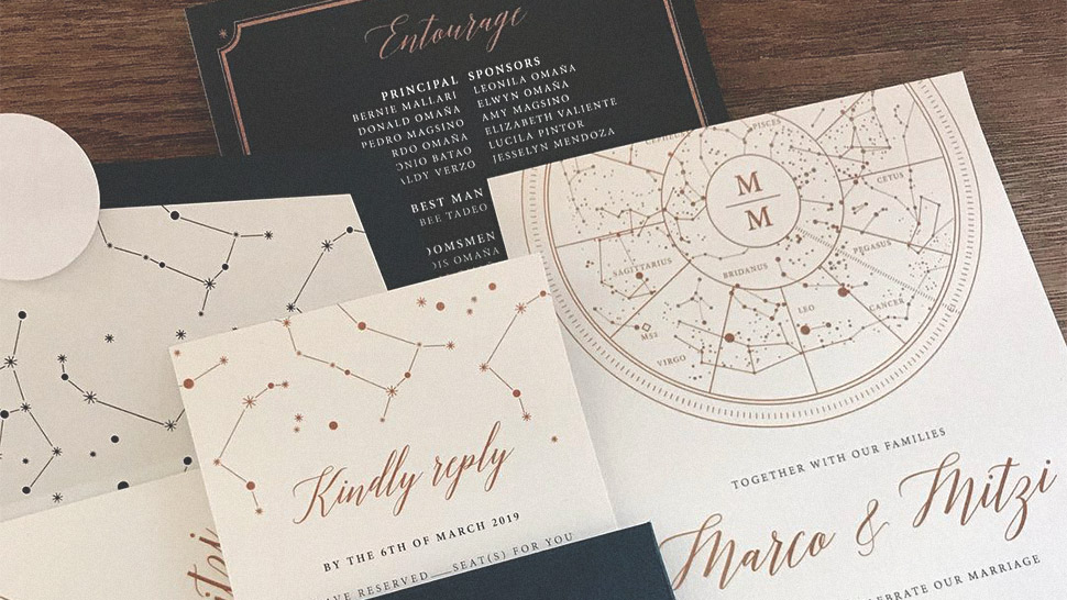 9 Wedding Invitation Suppliers in Metro Manila