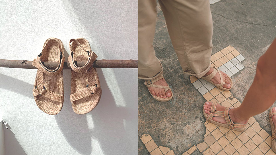 "This Local Brand's Woven Shoes Will Make You Want To Try ""ugly"" Sandals"