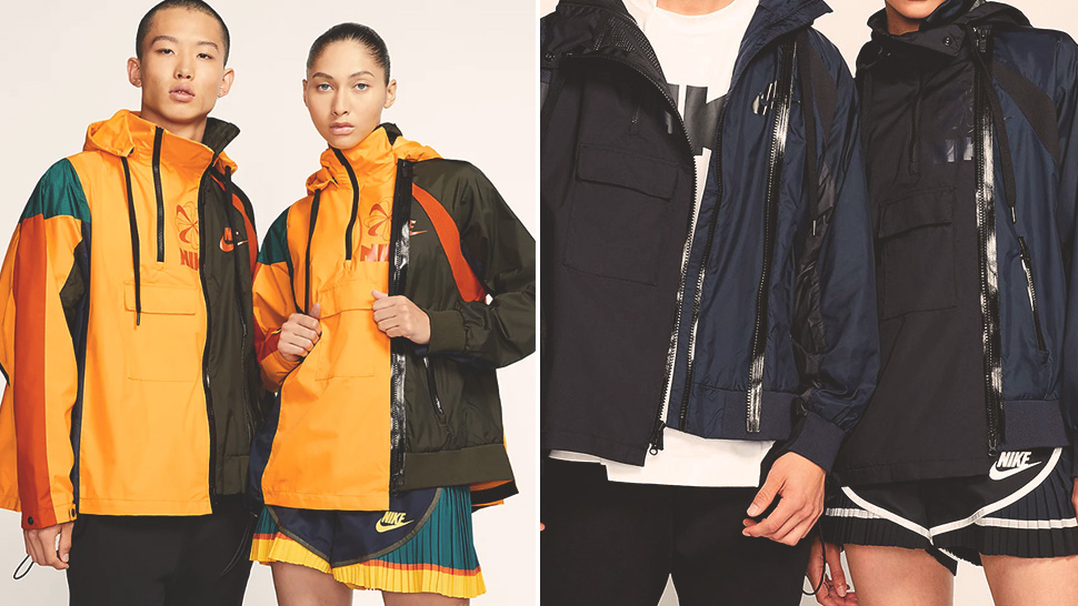 Nike and Sacai's Collab Has the Casual Jackets We've Been Looking For