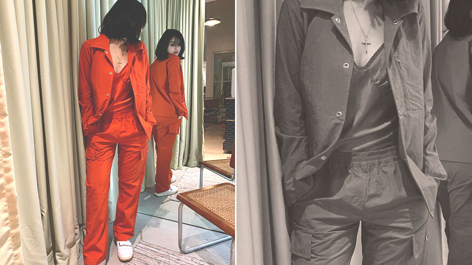 We Found Claudia Barretto's Exact Monochromatic Orange Outfit
