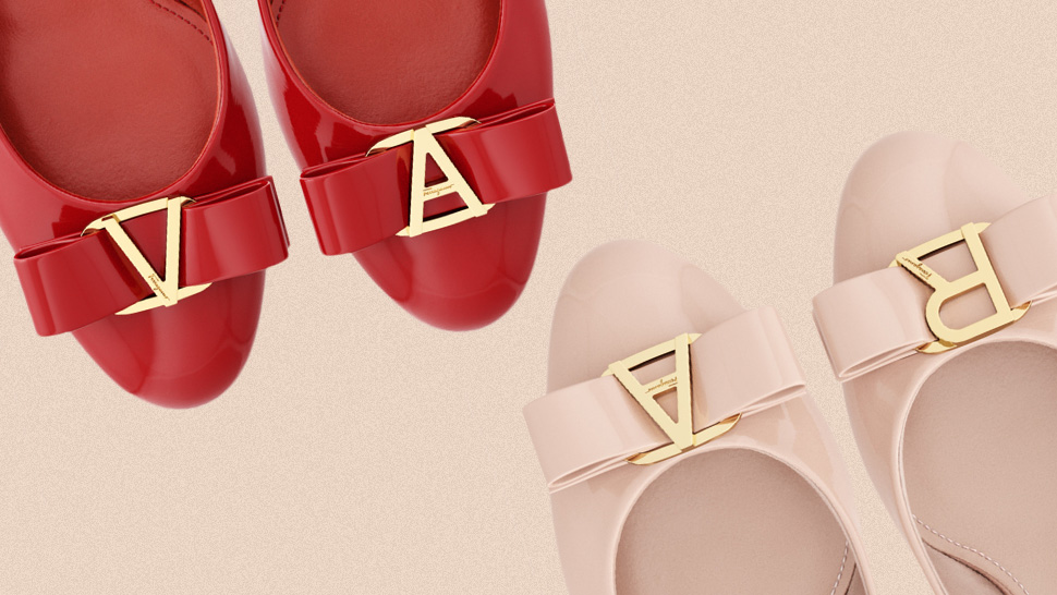 You Can Now Personalize Salvatore Ferragamo's Vara Pumps with Your Initials