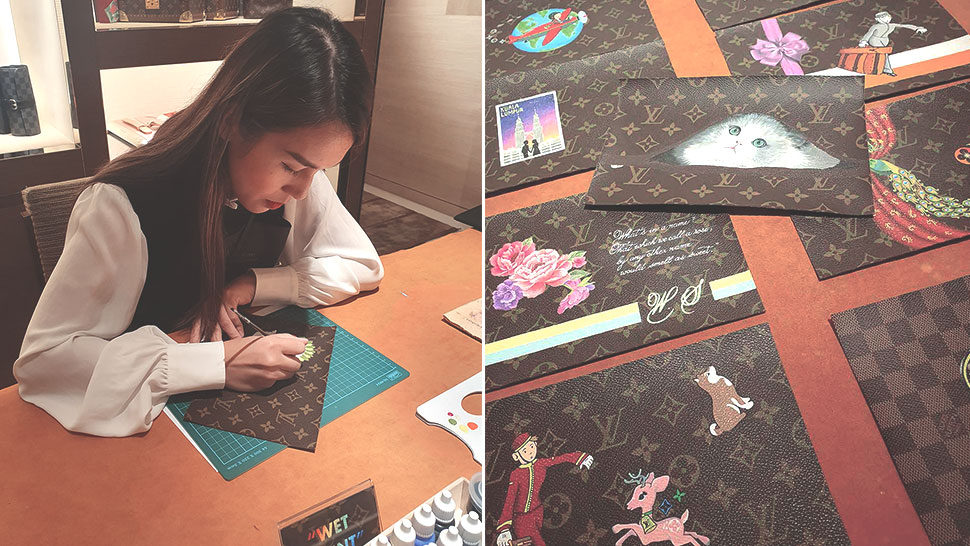You Can Now Have Anything Painted On Your Louis Vuitton Luggage
