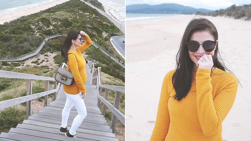 You Have To See Anne Curtis' First Ootd Proudly Showing Off Her Baby Bump