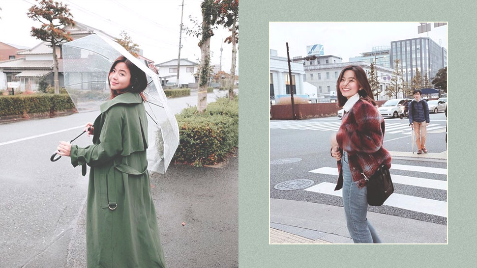 Miles Ocampo's Japan OOTDs Look Like They Came Straight Out of a Postcard