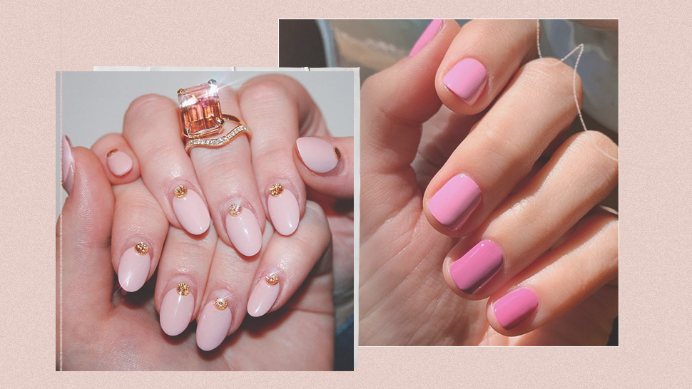 15 Dainty Manicure Ideas For Pink Lovers