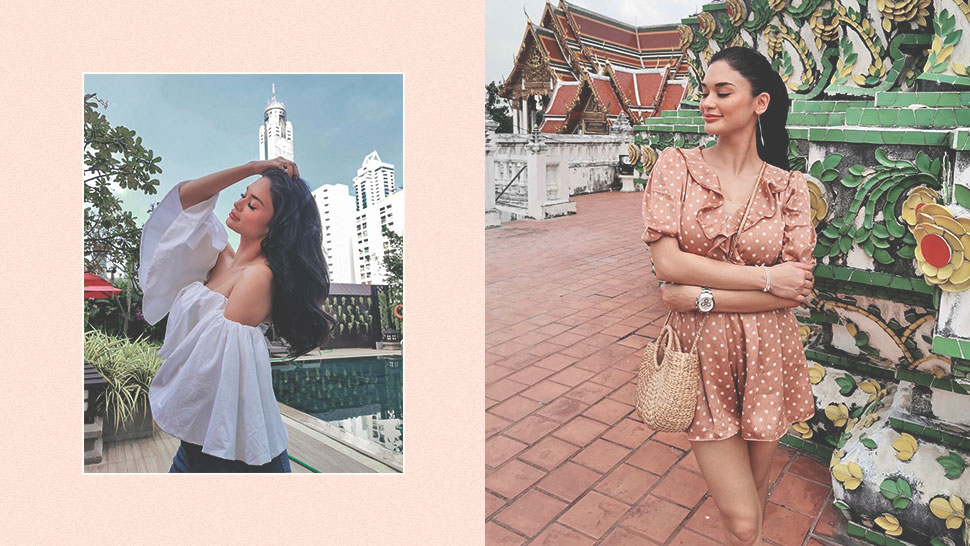 You Have to See Pia Wurtzbach's Bangkok Travel OOTDs