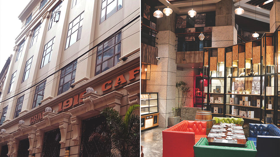 This Specialty Cafe In Binondo Is Located In A 100-year-old Building