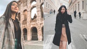 All The Stylish Celebrities We Recently Spotted In Rome, Italy
