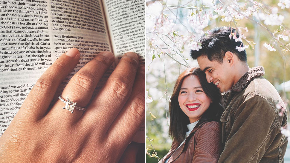 Joyce Pring And Juancho Trivino Are Engaged!