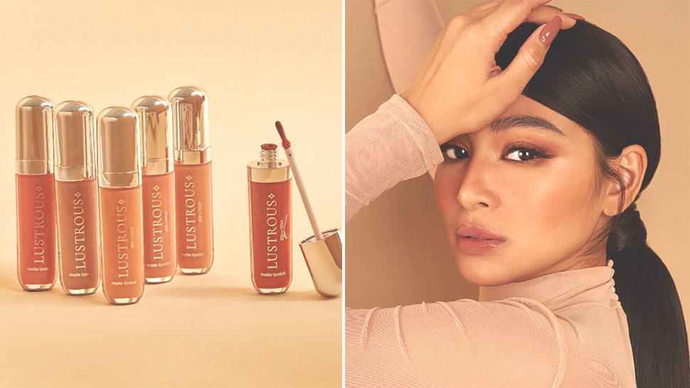You'll Fall In Love With Nadine Lustre's New Matte Nude Lipsticks