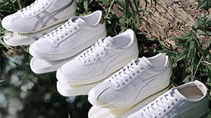 Onitsuka Tiger's Classic Sneakers Just Got An All-white Makeover