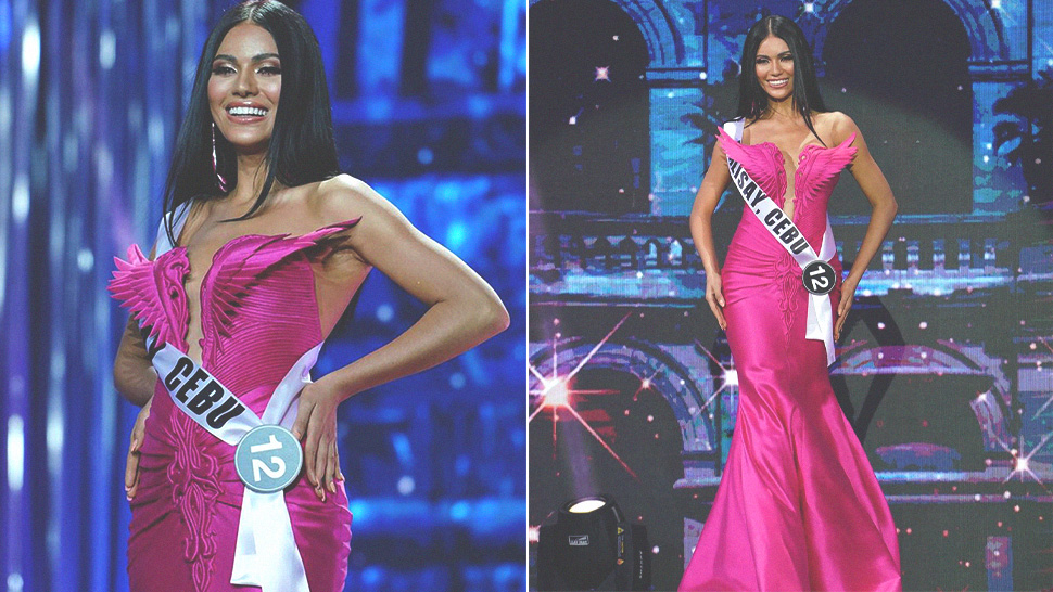 "Gazini Ganados Will Wear A ""bodyfitting"" Cary Santiago Gown For Miss Universe"