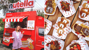 Fyi, There's A Nutella Breakfast Food Truck Roving Around Manila This December