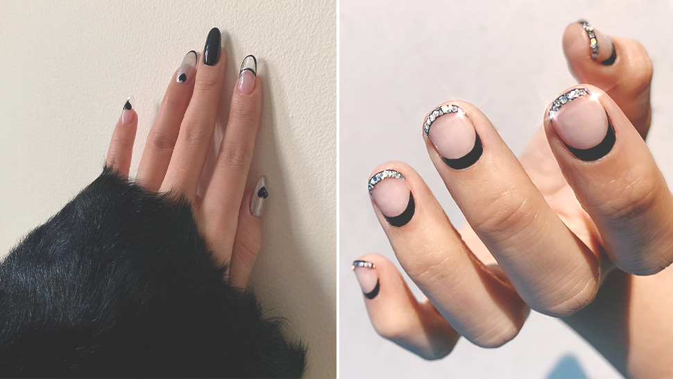 10 Black Manicure Ideas That Are Anything But Basic