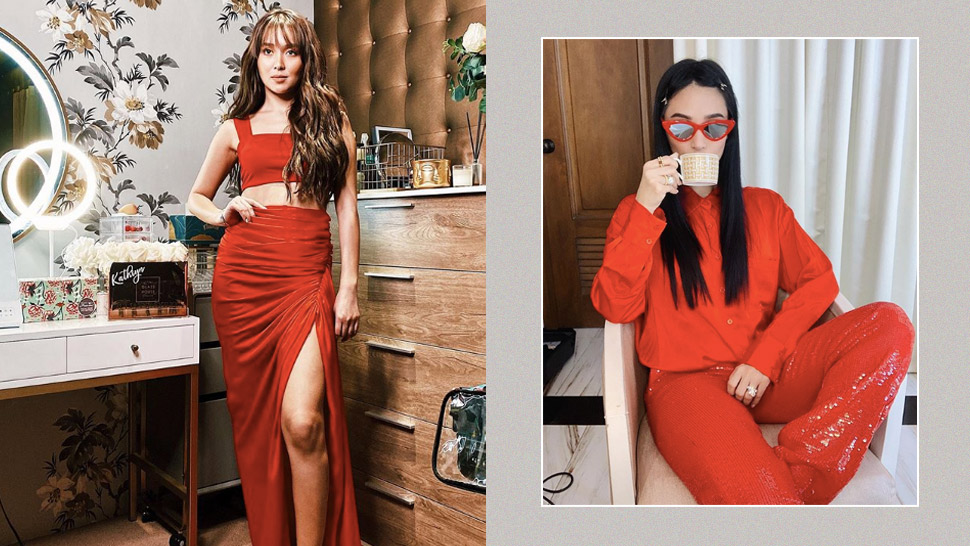 5 All-red Ootds That You Can Wear To Your Holiday Parties, As Seen On Celebs