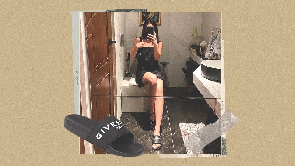 Would You Buy Julia Barretto's Bathroom Slippers For P17,000?