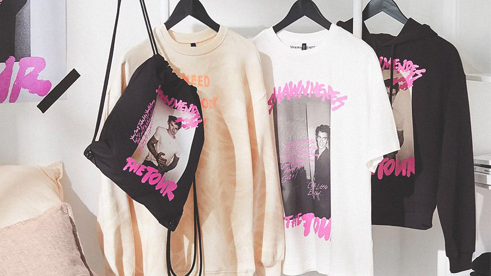 You Can Now Cop Shawn Mendes' Official Tour Merch at H&M