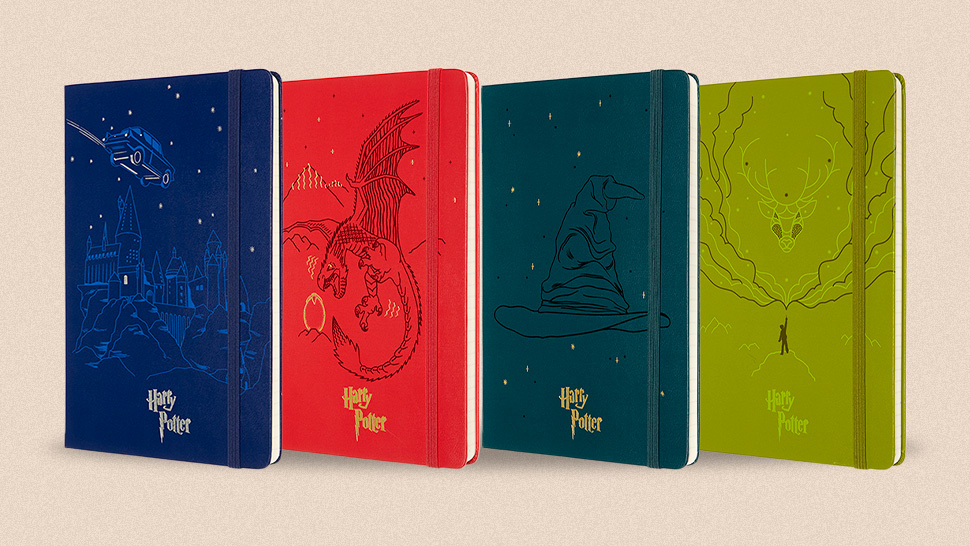 You'll Want To Use A Quill To Write On These Harry Potter-themed Journals