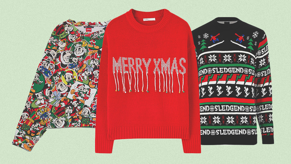 "10 ""Ugly"" Christmas Sweaters for Your Cheesy Holiday Photos"