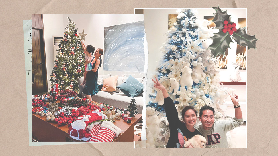 Here's How the Celebrities Decorated Their Christmas Trees This Year