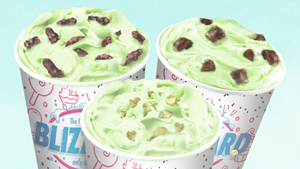 Dairy Queen's New Christmas Ice Cream Is Made With Pistachios
