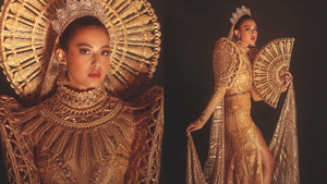 Michelle Dee's National Costume For Miss World Costs P1.3 Million