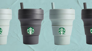 Fyi, Starbucks Is Coming Out With Collapsible Cups