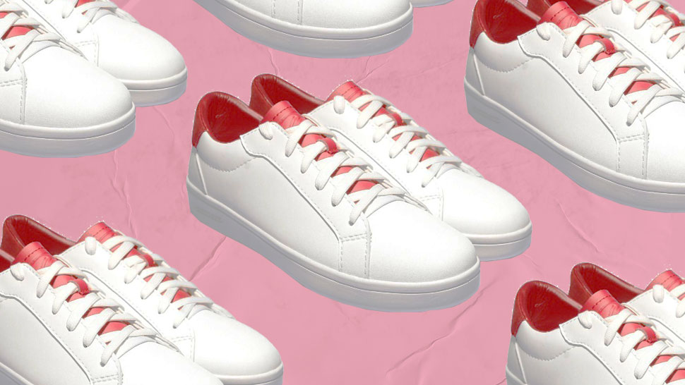 You Can Buy These Sleek White Sneakers for Less Than P2000