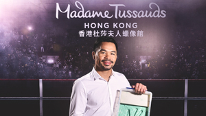 Manny Pacquiao Is Madame Tussauds' Newest Filipino Wax Figure